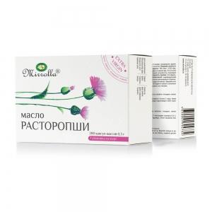 Растительное масло Расторопши №100, 0,3г