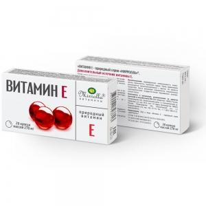 Витамин Е /токоферол/ №20 природный