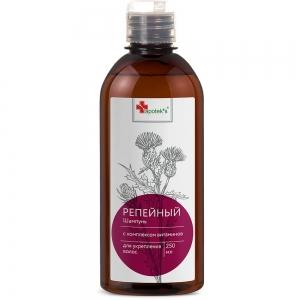 Шампунь для волос Репейный с комплексом витаминов для укрепления волос, 250мл