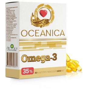 Океаника Омега 3-35%, 1400мг капсулы № 30