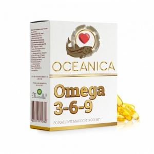 Океаника Омега 3-6-9, 1400мг капсулы № 30
