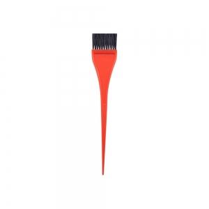 Кисть для окраски волос 35мм, оранжевая 303005