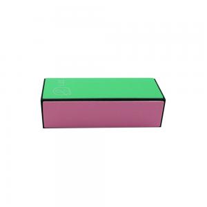 Lei Пилка-бафик для ногтей 4-х стор., полиров., цветной 320/600/1200/4000
