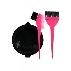 Набор для окраски волос (ванночка + 2 кисти) 306006