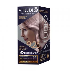 Стойкая краска для волос Розовое золото 9.25