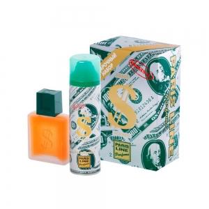 Подарочный набор Dollar (туалетная вода 100мл + пена для бритья 200мл)
