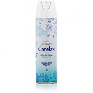 Дезодорант женский Carelax Свежая вода, 150мл