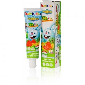 "Зубная паста Смешарики ""Bambolina Oral Care"" от 4 до 8 лет, 50мл"