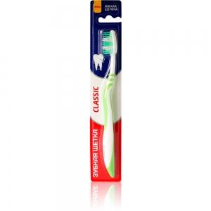 Зубная щетка Classic мягкая