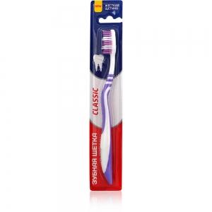 Зубная щетка Classic жесткая