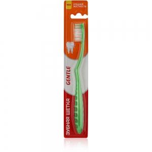 Зубная щетка Gentle средней жесткости