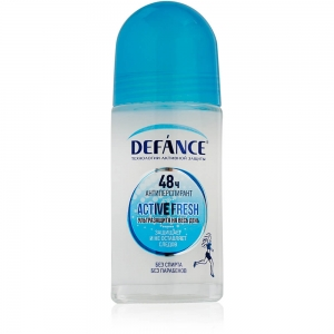 Дезодорант-антиперспирант женский Defance Activ Fresh, 50мл