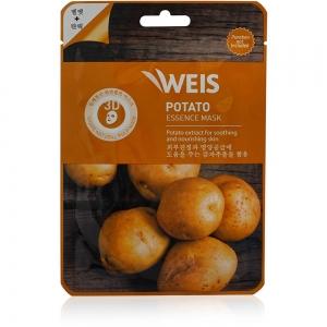 """Маска для лица Weis с экстрактом """"Картофеля"""" бархатистость и эластичность, 23г"""