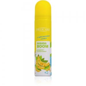 Дезодорант-антиперспирант женский Delicare Banana Boom, 75мл