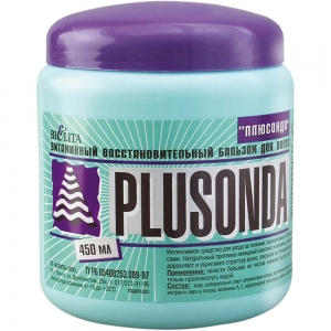 Plusonda Бальзам для волос Плюсонда 450мл