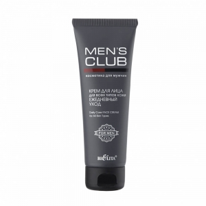MENS CLUB Крем для лица для всех типов кожи Ежедневный уход, 75мл тб