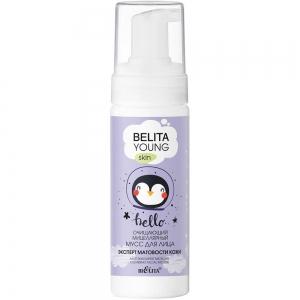"""Belita Young Skin Мицеллярный мусс для лица очищающий """"Эксперт матовости кожи"""", 175мл"""