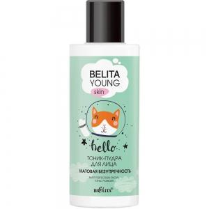 """Belita Young Skin Тоник-пудра для лица """"Матовая безупречность"""", 115мл"""