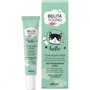 """Belita Young Skin Крем точечный для проблемных зон лица """"Stop проблемная кожа"""", 20мл тб"""