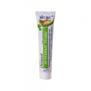 Дентавит Зубная паста Лечебные травы, 160гр