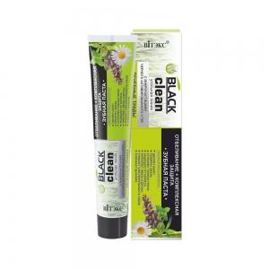 """Зубная паста Black Clean """"Отбеливание+комплексн.защита """", 85г"""
