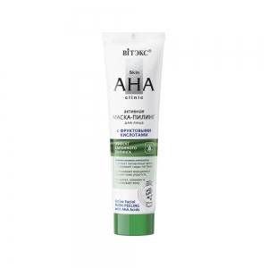 "Skin AHA Clinic Маска-пилинг для лица ""активная"" с фруктовыми кислотами, 100мл"