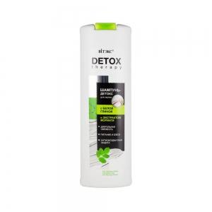 """Detox Therepy Шампунь-Детокс для волос с """"белой глиной и экстрактом моринги"""", 500мл"""