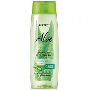 Aloe 97% Шампунь-Elixir Интенсивный уход для сухих, ломких и тусклых волос с 7 витаминами, 400мл