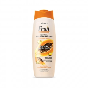 """FRUIT Therapy Восстанавливающий Шампунь для сухих и поврежденных волос  """"Папайя и мало амлы"""", 515мл"""