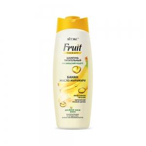 """FRUIT Therapy Питательный Шампунь для всех типов волос  """"Банан и масло мурумуру"""", 515мл"""