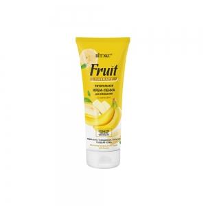 Питательная Крем-пенка для умывания FRUIT Therapy с бананом, 200мл