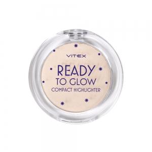 Хайлайтер для лица Vitex Ready To Glow тон 201 Rose glow для светлой кожи