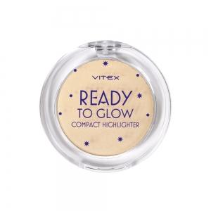 Хайлайтер для лица Vitex Ready To Glow тон 203 Golden glow для смуглой кожи