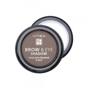 Тени для бровей и век Vitex Brow&Eye Shadow тон 12 Light brown