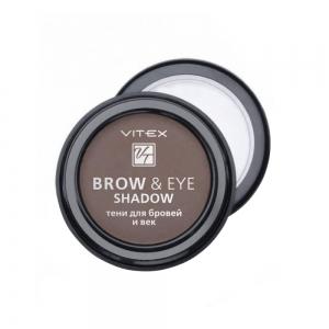 Тени для бровей и век Vitex Brow&Eye Shadow тон 13 Medium brown