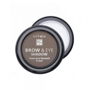 Тени для бровей и век Vitex Brow&Eye Shadow тон 14 Chocolate