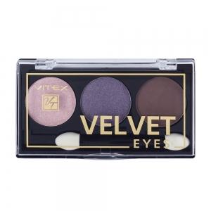 Компактные тени для век Velvet Eyes Vitex тон 02 Royal violet