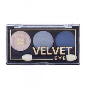 Компактные тени для век Velvet Eyes Vitex тон 05 Indigo