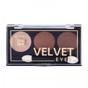 Компактные тени для век Velvet Eyes Vitex тон 06 Terracotta