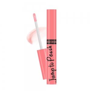Блеск для губ меняющий цвет Jump to Peach тон персиковый, 5,5г