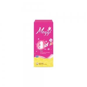 Прокладки гигиенические на каждый день Meggi Panty Deo (20шт)