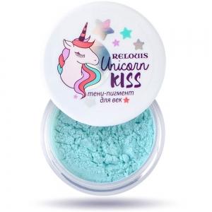 Unicorn KISS Тени-пигмент для век тон 03 Mint (мята) 1,5г