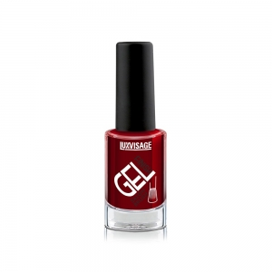 Лак для ногтей GEL finish тон 08 бордовый, 9г