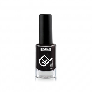 Лак для ногтей GEL finish тон 10 черный, 9г