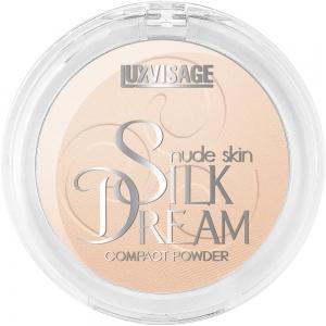 Пудра компактная Silk Dream nude skin тон 02 Светлый беж