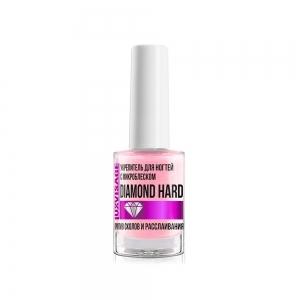 Средство по уходу за ногтями DIAMOND HARD укрепитель с микроблеском, против сколов и расслаивания, 9г