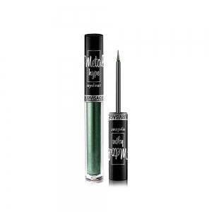 Подводка для глаз Metal hype цветная, эффект металлического сияния, тон 04 (indian emerald)