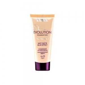 LUXVISAGE Тональный крем Skin Evolution soft matte blur effect тон 10 light, 35г