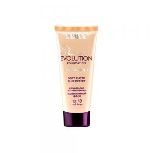 LUXVISAGE Тональный крем Skin Evolution soft matte blur effect тон 40 cool beige, 35г