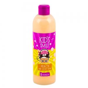 Шампунь и гель для душа Kids Smile Персик, 500г